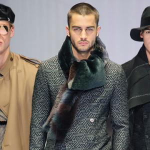 Men's Milan Fashion Week: Emporio Armani Fall/Winter '17