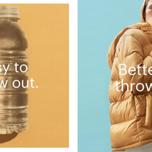 Everlane's new collection is made with recycled plastic water bottles