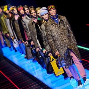 Men's Milan Fashion Week: Fendi Fall/Winter '17