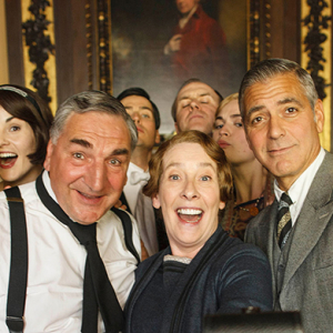 George Clooney and Joanna Lumley make their Downton Abbey debut