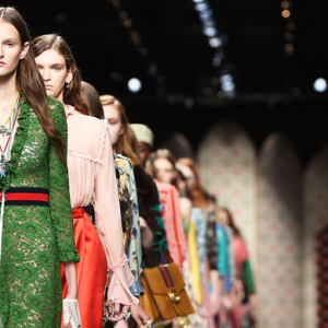 London bound: Gucci Cruise '17 heads to Westminster Abbey