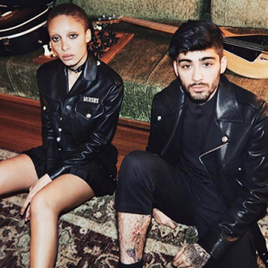 First look: Versus Versace's Spring '17 campaign by Gigi Hadid, starring Zayn Malik