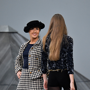 A spectator crashes the Chanel show? Here's what you need to know