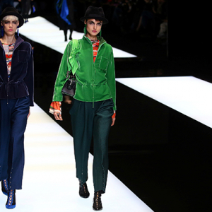 Milan Fashion Week: Giorgio Armani Fall/Winter '17