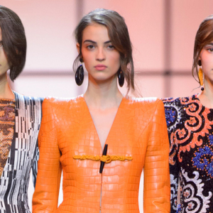 Paris Haute Couture Fashion Week: Giorgio Armani Privé Spring/Summer '17