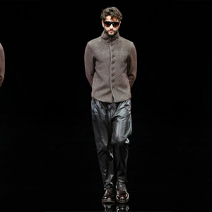 Milan Men's Fashion Week: Giorgio Armani Autumn/Winter 14