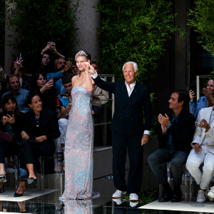 Giorgio Armani announces a new calendar for future shows