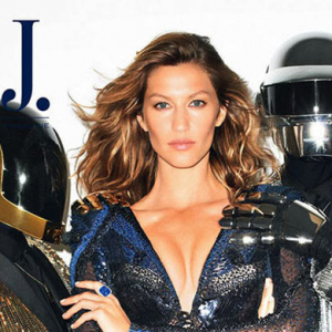 Gisele and Daft Punk cover The Wall Street Journal