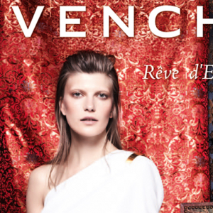 Valerija Kelava stars as the new face of Givenchy fragrance Rêve d'Escapade