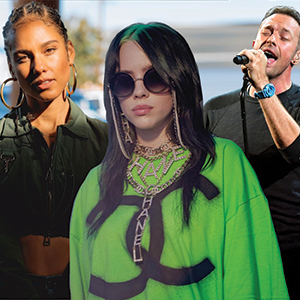 Expect to see Coldplay, Billie Eilish and more in Dubai this September