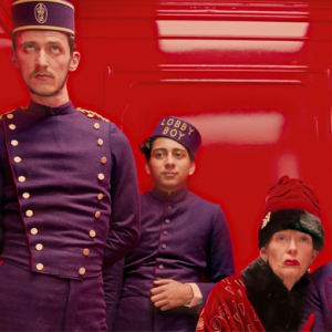 Behind-the-scenes footage from 'The Grand Budapest Hotel'