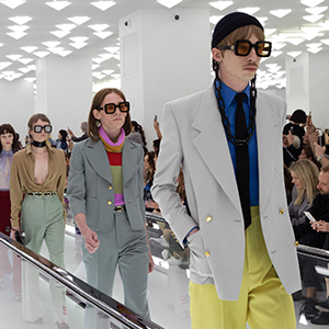 Watch now: Gucci's first menswear-only show since 2017