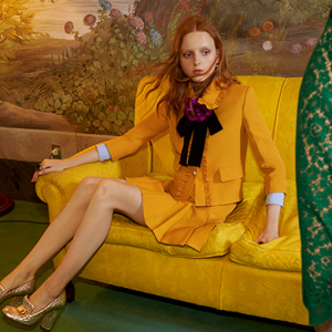 Gucci release new Cruise 2016 images directed by Alessandro Michele