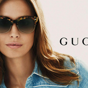 395f5d1e6e8d Gucci taps Nadja Bender for new eyewear campaign