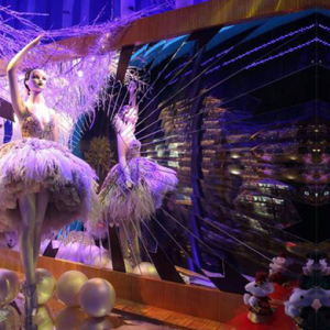 Harrods unveil festive holiday windows and its first animated film