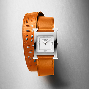 Hermès have just introduced the latest iteration of the iconic Heure H timepiece