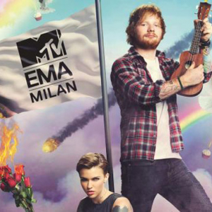 Ed Sheeran and Ruby Rose are hosting the MTV EMAs