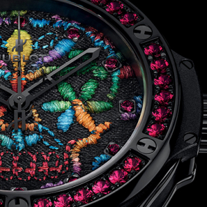Hublot Big Bang Broderie Sugar Skull breaks horology codes