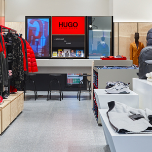 Hugo launches Reversed personalisation service in new store at The Dubai Mall