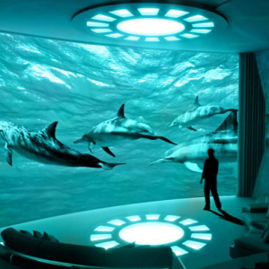 Plans unveiled for new IMAX cinema on board a superyacht