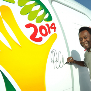 Emirates introduces Pele signed Boeing 777-300ER