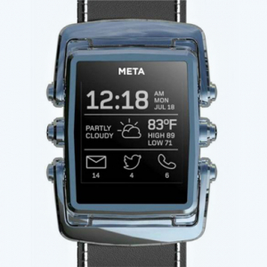 Introducing the MetaWatch: a collaboration with Frank Nuovo