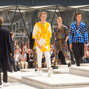 Men's Paris Fashion Week: Issey Miyake Spring/Summer '17