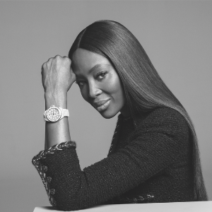 Naomi Campbell celebrates the 20th anniversary of Chanel's J12 watch