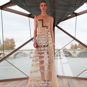 River turns runway for Middle Eastern designers