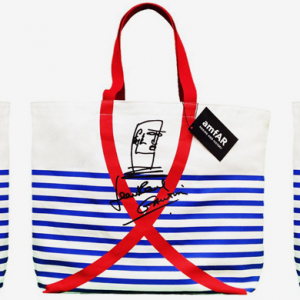 Jean Paul Gaultier has designed a charitable bag for amfAR