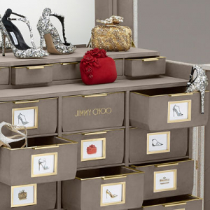Inside the Jimmy Choo Trunk