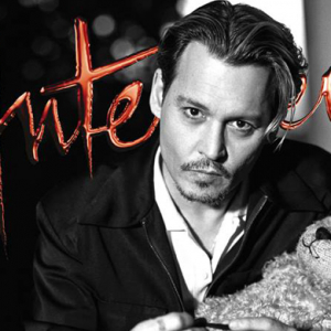 Johnny Depp covers Interview magazine