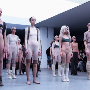 Kanye West presents Adidas Originals collaboration at New York Fashion Week