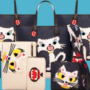 Karl Lagerfeld debuts 'Monster Choupette' collection