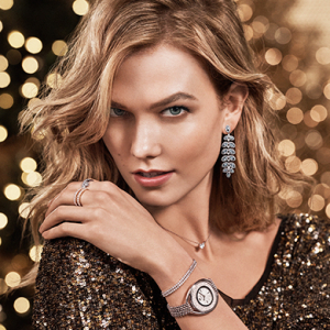 Discover Swarovski's holiday collections with Karlie Kloss