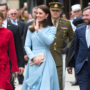 On tour: Kate Middleton's first official visit to Luxembourg