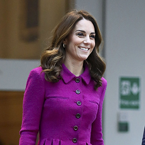 Kate Middleton recycles Oscar de la Renta suit to visit the Royal Opera House