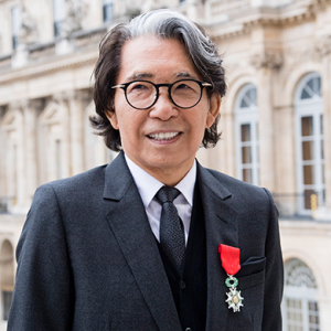 Kenzo Takada awarded French knighthood