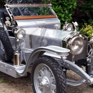 The 1907 Rolls Royce Silver Ghost replica for children