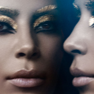 Kim Kardashian channels Elizabeth Taylor's Cleopatra for Violet Grey