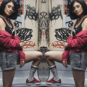 Puma unveils new ad campaign with Kylie Jenner