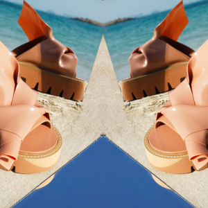 Level Shoe District exclusive: N°21 x Kartell Knot sandals