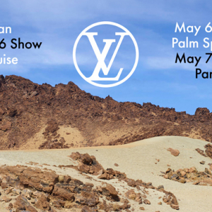 Streaming: The Louis Vuitton Cruise 2015/16 show live from Palm Springs