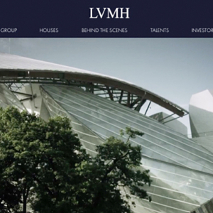 Luxury conglomerate LVMH unveil new interactive and visually dynamic website