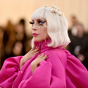 Lady Gaga is being praised for not retouching her Haus Beauty promo images