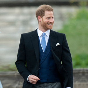 New dad Prince Harry is among the royals that attended Lady Gabriella Windsor's wedding