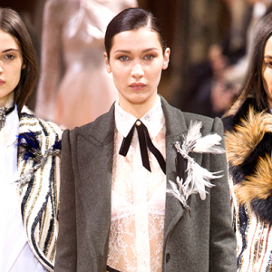 Paris Fashion Week: Lanvin Fall/Winter '17