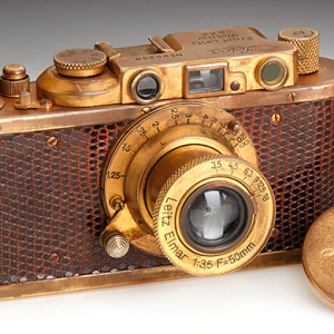 100 Rare Leica models to be auctioned off