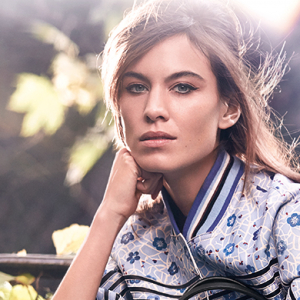 First look: Longchamp's Spring campaign featuring Alexa Chung