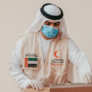 L'Oreal Middle East supports the UAE's COVID-19 relief efforts